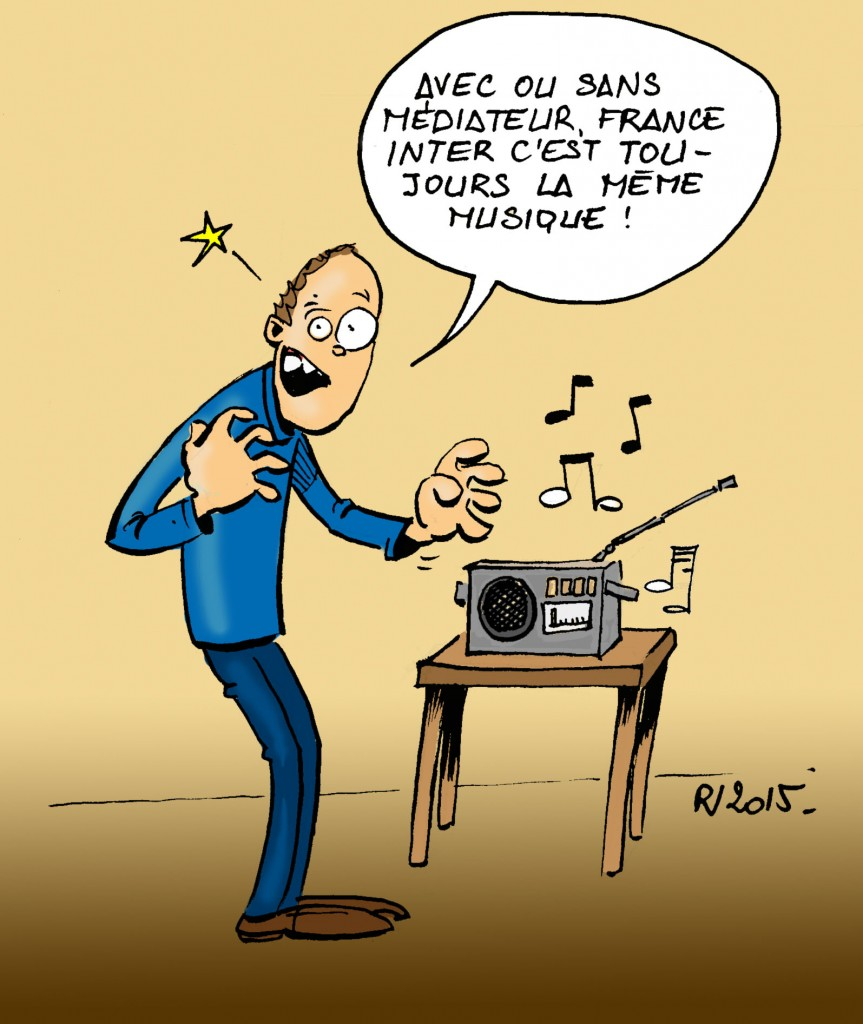Actu 2015-04-14 - Radio France en grève