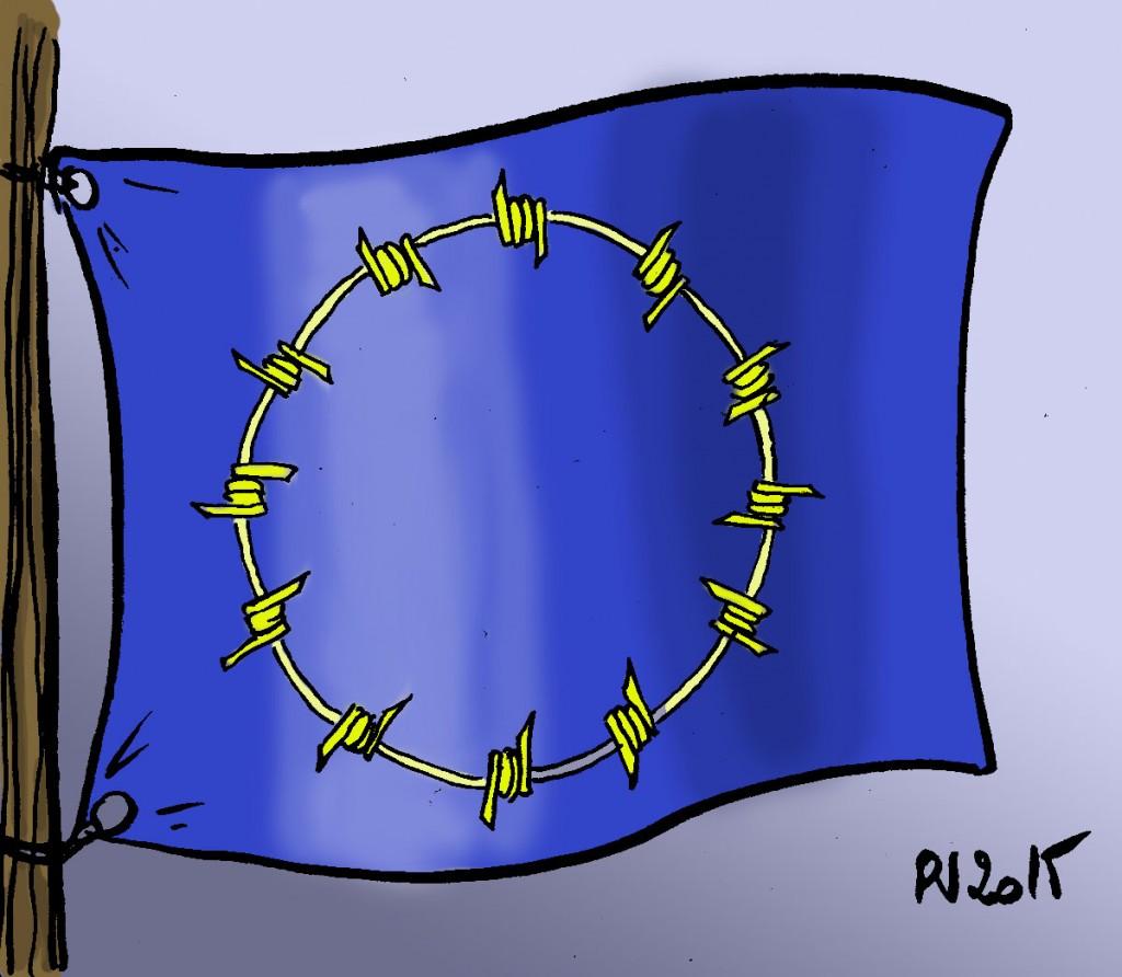 Actu 2015-09-15 - L'Europe des frontières