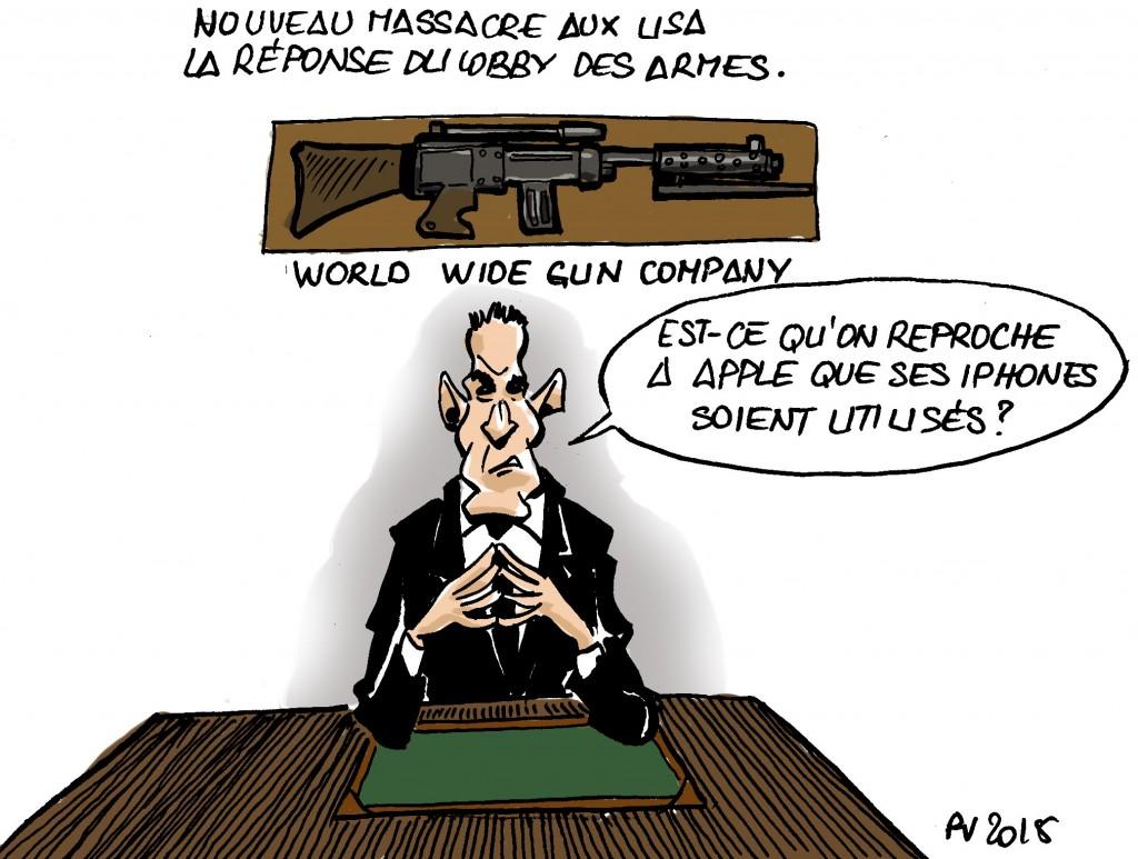 Actu 2015-10-19 - LObby des armes