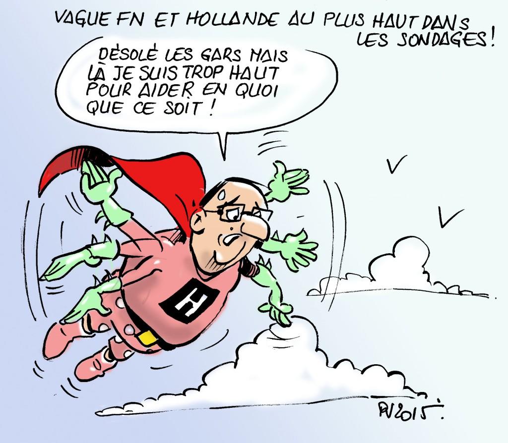 Actu 2015-12-10 - Hollande sondages